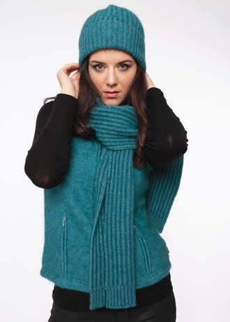 KO1020 Ribbed scarf
