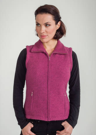 KO467 Shaped Zip Vest