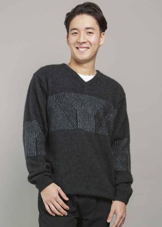 KO843 Plated weave jumper