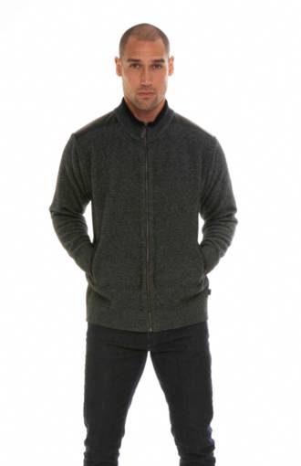 KO852 patterned jacket with tipping