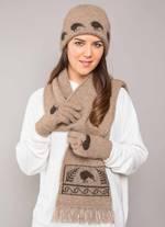 KO162, KO129 & KO52 Kiwi beanie, scarf & gloves
