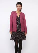 KO514 scalloped edge cardigan