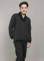 KO846 Shawl collar jumper
