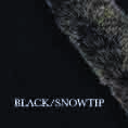 Fur trim swatch black snowtip edit