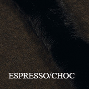 Fur trim swatch espresso chocolate koru website