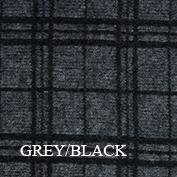 KO83 Swatch grey black tartan koru website