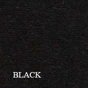 Plain black swatch koru website