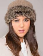 KO185  Fur Trim Hat